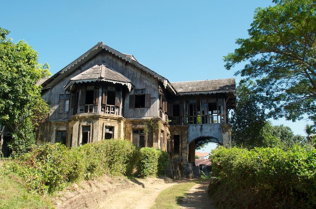 Nog een stukje Yangon