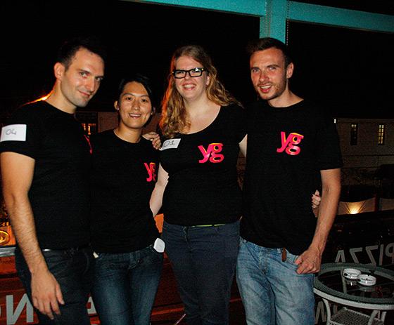Team YG: B, YoungMan S, Huisgenoot M, JW