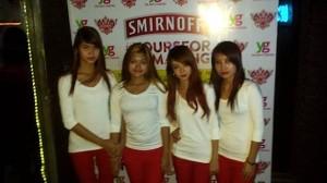 De Smirnoffmeisjes