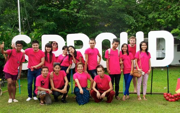 Onze leger roze vrijwilligers